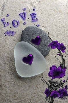 Mobile wallpaper📱 images 💖 i love you 💖 appa - sharechat Purple Love, All Things Purple, Purple Rain, Shades Of Purple, Purple Hearts, Purple Flowers, Heart Wallpaper, Love Wallpaper, Mobile Wallpaper