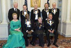 12/1/12 Kennedy Center Honorees w/ Bill and Hill. [dnlok]