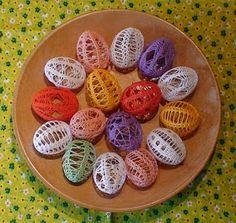 Easter Crochet, Happy Easter, Crochet Patterns, Eggs, Knitting, Breakfast, Desserts, Blog, Internet