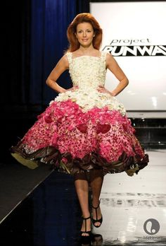 Project Runway 11 Hard and Soft Challenge (Hardware Store and Floral Store): Designer Kate Pankoke