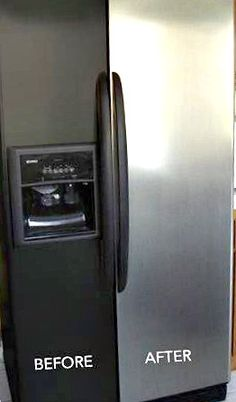 simple ways to increase the value of your home | this got great reviews on Amazon! $60 for an updated fridge? YES!