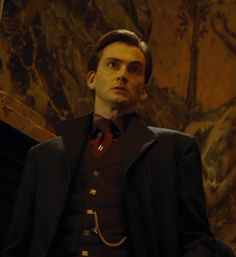 """David Tennant as Barty Crouch Jr - Still good looking even if he's crazy.""<----love this description!"