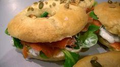 Mes Julie gourmandises: Bagels à la truite fumée