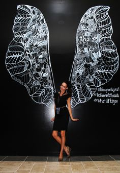 Kelsey Montague Art wings Tonya