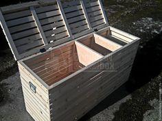 Купить Большой ящик для хранения овощей и фруктов - бежевый, ящик, ящик для хранения, ящик для овощей