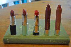 Top 5 Autumn Lipsticks.