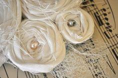 fabric rosette tutorial extravaganza!   Little Birdie Secrets