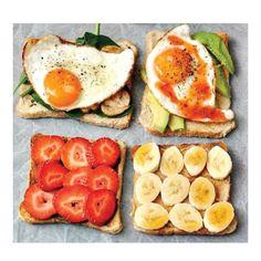 Unas ricas tostadas para comenzar el día ;) #revistainkomoda #revista #nuevodia #buenosdias #desayuno #tostadas
