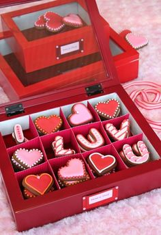 """Love Cookies"" #packaging #valentines #day #anniversary"