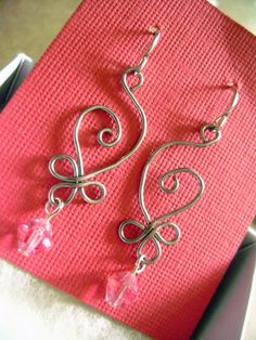 Leia's Boutique: Celtic Budding Spiral Earrings