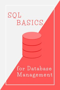 Feb 2020 - This tutorial teaches you the fundamentals of SQL (Structured Query Language) for database management (DBMS). Learn the basic SQL commands with simple examples and explanation. Computer Coding, Computer Programming, Python Programming, Projets Raspberry Pi, Sql Commands, Learn Sql, Excel Hacks, Database Design, Data Science