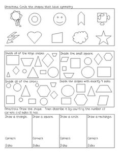 Ks2 Subtraction Worksheets Geometry Worksheets For Students In St Grade  Geometry  Symmetry Worksheets Ks2 Pdf with He Or She Worksheet Excel First Grade Geometry Assessment Disney Worksheets Excel