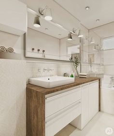 STUDIO: Projekt łazienka w ciepłych kolorach - 'makeover' Bathroom Splashback, Bathroom Sink Units, Narrow Bathroom, Bathroom Toilets, Laundry In Bathroom, Modern Bathroom Decor, Contemporary Bathrooms, Bathroom Interior Design, Bathroom Styling