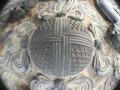 """""""Large stone sphere depicting the Flower of Life pattern, found by Jamie Janover in the royal gardens of the Forbidden City in Beijing, China. Goes to show the incredible knowledge our ancient. All Religious Symbols, Flower Of Life Pattern, Shape Art, Ancient Civilizations, Sacred Geometry, Art Forms, Archaeology, Jewelry Art, Beijing China"""