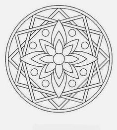 mandala coloring pages Mandala Design, Mandala Pattern, Zentangle Patterns, Zentangles, Mandala Coloring Pages, Colouring Pages, Adult Coloring Pages, Coloring Books, Coloring Sheets