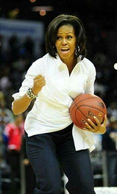 What an awesome First Lady!
