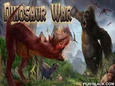 Dinosaur War  Android Game - playslack.com , Dinosaur War - on the one hand it is a strategy where you should supply a body of archosaurs, having created better contexts for being, and on the other hand you should take part in very inhumane and blood-changed  war. In the beginning groups and archosaurs lived peacefully, but in some time there were bad qualities which began to wreck groups. As a phenomenon of this battle many groups and archosaurs were lost, but those who endured  decided to…