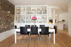 Bücherregale Holz - inspirierende Ideen für eine tolle Hausbibliothek -