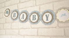 A personal favourite from my Etsy shop https://www.etsy.com/uk/listing/244923568/baby-boy-bannergarlandbaby-showernew