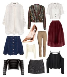 """""""New year new clothes"""" by jemscure on Polyvore featuring Zara, River Island, Topshop, Boohoo and H&M"""