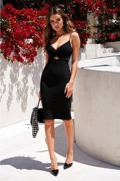 night outfit cold Make The Mission Midi Dress Black Mache das Mission Midi Kleid schwarz Date Night Dresses, Night Outfits, Dress Outfits, Fashion Outfits, Club Outfits, Kids Outfits, Going Out Outfits, Pretty Outfits, Stylish Outfits