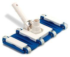 Weight Flex Vacuum Head Blue pool Swimming Clean New Free shipping #Swimline