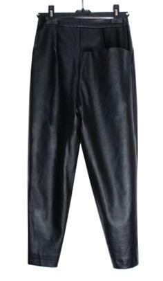 Pantalón cuero Branding Design, Leather Pants, Sweatpants, Womens Fashion, Fashion Design, Leather, Pants, Leather Jogger Pants, Lederhosen