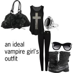 vampire girl outfit part1