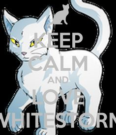 KEEP CALM AND LOVE WHITESTORM - KEEP CALM AND CARRY ON Image Generator