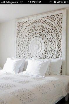 Lovely bedroom white clean fresh