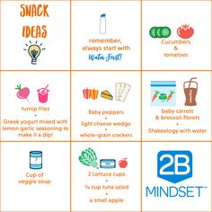 Easy, Healthy  snack ideas Food Lists, Mindset, Bullet Journal, Office Supplies, Notebook, Attitude, Desk Supplies, The Notebook