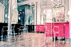 Located in New York's Meatpacking District, Michael Angelo's Wonderland Beauty Parlor is part hair salon, part boutique, and part exhibition space