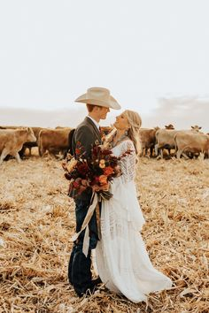 It's a Netflix-worthy Colorado Ranch Wedding with 10 guests! Beautiful scenery, a couple in love, and animals(!) made for the dreamiest day! Most Beautiful Images, Beautiful Scenery, Bridal Portrait Poses, Colorado Ranch, Bridal Pictures, Couples In Love, Bridal Looks, Netflix, Wedding Day