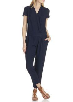 Combinaison pantalon Cabalona Bleu by COMPTOIR DES COTONNIERS