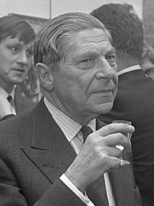 Arthur Koestler, CBE (5 September 1905 – 1 March 1983) was a Hungarian-born British author and journalist. In 1940 he published his novel Darkness at Noon, an anti-totalitarian work, which gained him international fame.