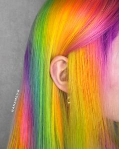 Bright Hair Colors, Hair Dye Colors, Cool Hair Color, Colours, Grunge Look, Grunge Style, 90s Grunge, Soft Grunge, Grunge Outfits