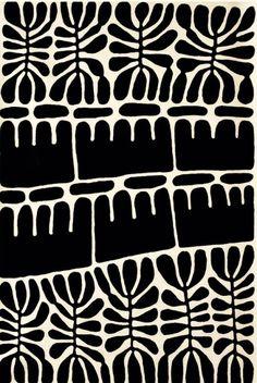 print inspiration beautiful design pattern black and white block print art Motifs Textiles, Textile Patterns, Textile Design, Graphic Patterns, White Patterns, Print Patterns, Graphic Design, Tribal Patterns, Print Design