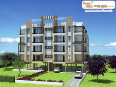 Apartment Design. Click here :(http://www.apnaghar.co.in/pre-design-house-plan-ag-page-63.aspx)  to view free floor plans (naksha) and other specifications for this design. You may be asked to signup and login. Website: www.apnaghar.co.in, Toll-Free No.- 1800-102-9440, Email: support@apnaghar.co.in