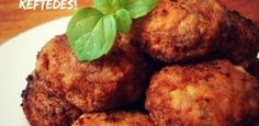 Meatballs From Mitilini Island - Easy and yummy, daily homemade recipes! Greek recipes, Quick recipes, Easy sweets and others. Greek Recipes, Quick Recipes, Cooking Recipes, Tasty Meatballs, Greek Meatballs, Vegan Patties, Eat Greek, Appetizer Dishes, Appetizers