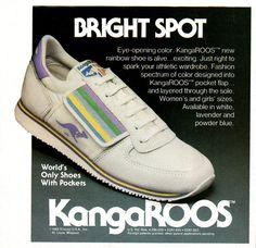 #80s #fashion #style #shoes #kangaroos #pastel