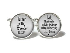 Father of the Bride Cufflinks Style 723
