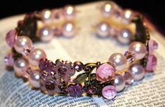 Pink Flower Memories on Handmade Artists' Shop