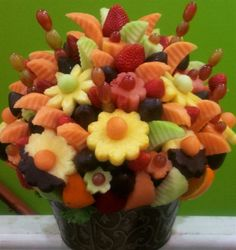 Bountiful Fruit Arrangerment