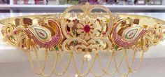 Latest 1 Gram Gold Vaddanam Designs | Buy Online jewellery | Elegant Fashion Wear #1gram #gold #vaddanam #design