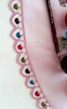 Best Crochet Patterns and Writing Edges In I would like to present you with 125 writing edge 2 Embroidery On Kurtis, Embroidery Neck Designs, Bead Embroidery Patterns, Embroidery Fashion, Beaded Embroidery, Baby Knitting Patterns, Sewing Patterns, Crochet Patterns, Sewing Ideas