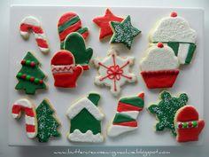 christmas cookies | Decorating Christmas Cookies