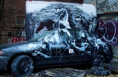 Banksy's artwork Banksy latest artwork