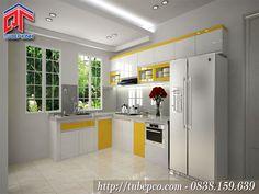 Thiết kế tủ bếp màu sắc ấn tượng được yêu thích nhất hiện nay