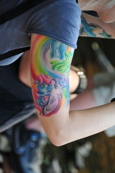Half Sleeve Is Probably More My Style