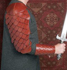 Butterick 5580 Armor Medieval Bracers Sword holder Pouch Sew Pattern LOTR Elves on eBay!